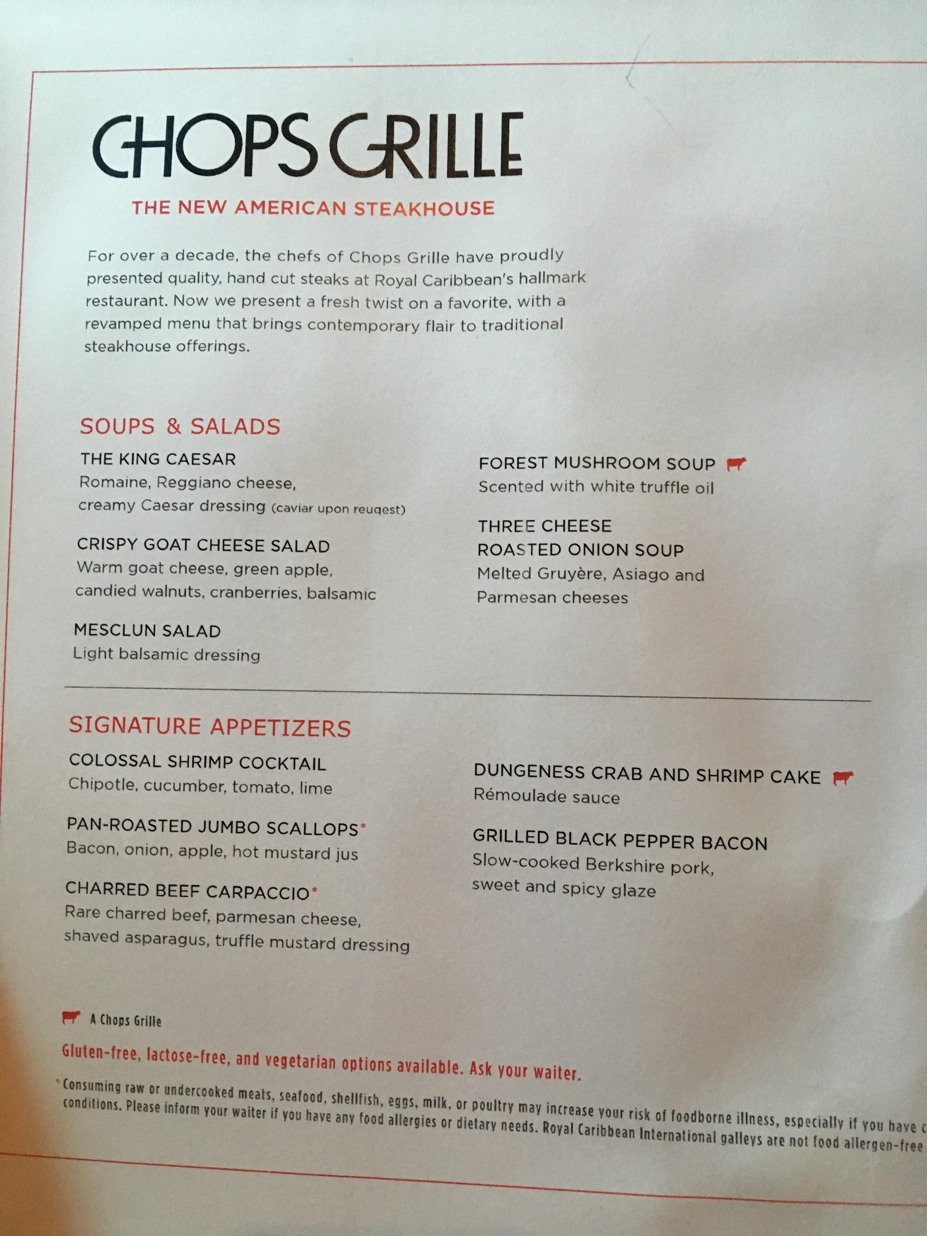 1.chops Grille Menu « Garden Of Gluten Free