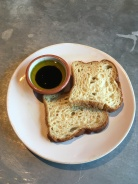 Jamie's Italian-GF bread with olive oil and balsamic