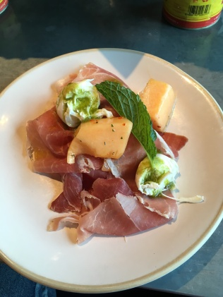 Jamie's Italian-prosciutto and melon