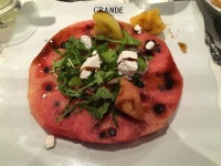The Grande-watermelon and feta salad